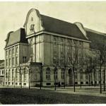 Budova německé knihovny